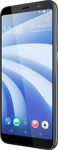 HTC U12 Life Smartphone (15,24 cm (6 Zoll) 18:9 LTPS Display, 64 GB interner Speicher und 4 GB RAM, Dual LED-Blitz, Dual-SIM, Frontblitz, Android 8.1) Moonlight Blau