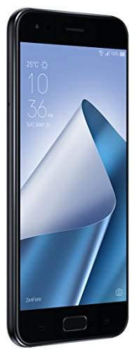 Asus 773950 13,97 cm (5,5 Zoll) Smartphone (Dual-Kamera 12 und 8MP, 64GB Speicher, Android 7.1 (Nougat)) schwarz