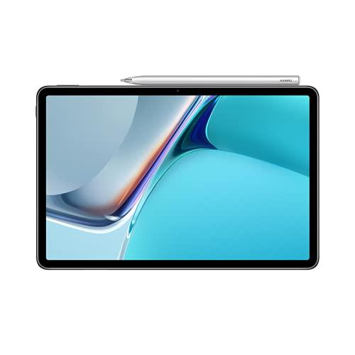 HUAWEI MatePad 11, Tablet mit HUAWEI M-Pencil, 11 Zoll,120 Hz 2,5 K FullView-Display, WiFi 6, 7250 mAh Akku, 128 GB/6 GB RAM, 4 Lautsprecher, HarmonyOS 2 mit AppGallery, Matte Gray, 30 Monate Garantie