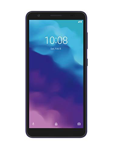 ZTE Blade A3 2020 - Smartphone 5.45' HD+ (18:9, 1 GB RAM, 32 GB ROM, 2600 mAh Akku, Android P Go Editon) Dunkelgrau