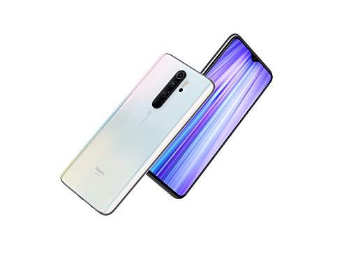 Xiaomi Redmi Note 8 Pro Smartphone (16,59cm (6,53 Zoll) FHD+ Display, 64GB interner Speicher + 6GB RAM, 64MP Vierfach-KI-Rückkamera, 20MP Selfie-Frontkamera, Dual-SIM, Android 9) Pearl White (Weiß)