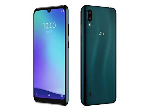ZTE Blade A5 (2020) (15,46 cm (6 Zoll) HD+ Display, 32GB interner Speicher und 2GB RAM, 13MP+2MP Hauptkamera, 5MP Frontkamera, Android) Dunkelgrün