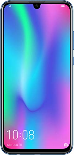 HONOR 10 Lite 64 GB Smartphone BUNDLE (16,5 cm (6,21 Zoll), Dual-Kamera, Dual-SIM, Android 9.0) Sapphire Blue + gratis HONOR Classic Earphone [Exklusiv bei Amazon] - Deutsche Version