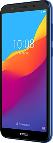 Honor 7S Smartphone (13.84 cm (5.45 Zoll) rahmenloses HD+ Display, 16 GB interner Speicher und 2 GB RAM, 13 MP Haupt- und 5 MP Frontkamera, Dual-SIM, Android 8.1) Blau