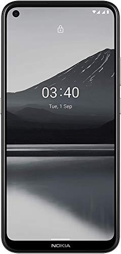 Nokia 3.4 Smartphone mit 6,39 Zoll HD+ Display, Qualcomm Snapdragon 460, 2 Tage Akkulaufzeit, Porträt- und Nachtmodus, 5MP ultraweite Kamera, robustes Design, Family Link und Android One, Charcoal