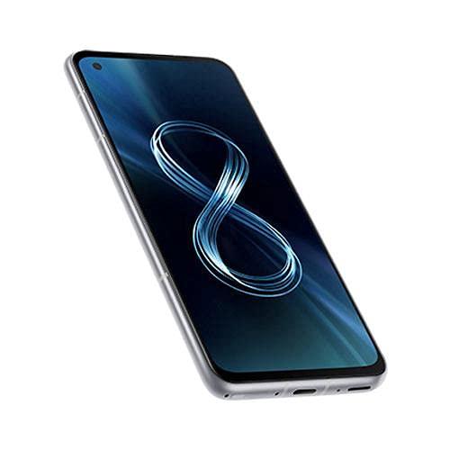 ASUS Zenfone 8 ZS590KS-8J012EU Smartphone 5G 5.92' AMOLED 2400x1080 120Hz 256GB RAM 16GB 3 Kameras 4000mAh Dual SIM (2021) silber