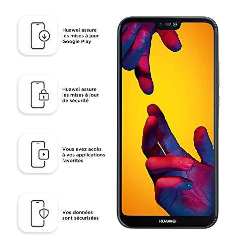 Huawei P20 lite Smartphone (14.83 cm (5.84 Zoll), 64GB interner Speicher, 4GB RAM, 16 MP Plus 2 MP Kamera, Android 8.0, EMUI 8.0, Dual SIM) Midnight Black (West European Version)