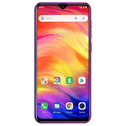 Handys ohne Vertrag Günstig, Ulefone Note 7 Lockfreie Smartphone 6,1 Zoll IPS Display Android 9.0 16GB ROM Dual SIMSimlockfreie Smartphone 8MP + 2MP + 2MP Rückkamera und Face ID - Twilight