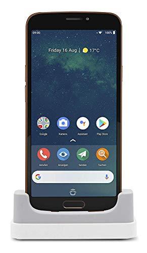 Doro 8080 Smartphone (14,5 cm (5,7 Zoll) 18:9 IPS Touchscreen, 16 MB Kamera, Bluetooth 5.0, Wi-Fi, USB-C) schwarz