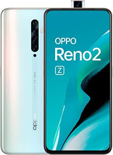 Oppo Reno 2Z - Smartphone 128GB, 8GB RAM, Dual SIM, Sky White