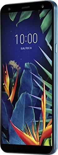 LG K40 Smartphone (14, 48 cm (5, 7 Zoll) LC-Display, 32 GB interner Speicher, 2GB RAM, MIL-STD-810G, Android 8.0) Moroccan Blue