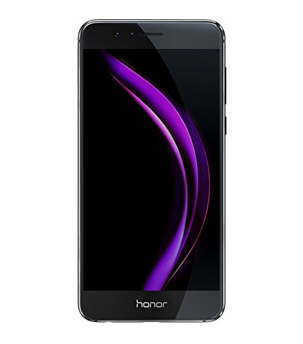 Honor 8 Smartphone (13,21 cm (5,2 Zoll) Full HD Display, 32 GB Speicher, Android) schwarz