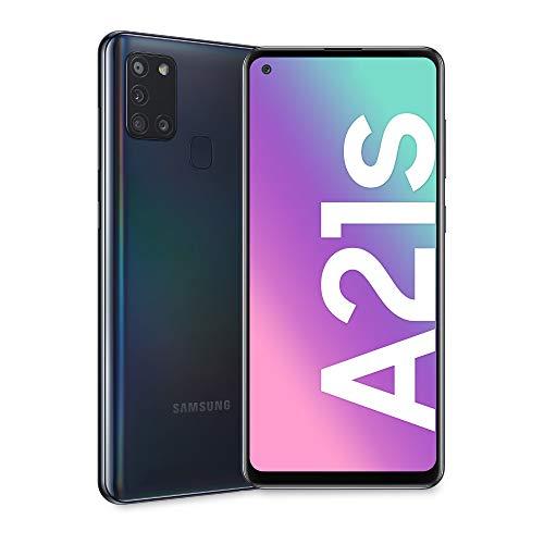 Samsung Galaxy A21s Dual SIM 64GB, Black, A217F Android Smartphone