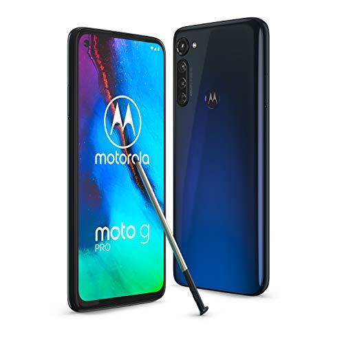 Motorola Moto G Pro 128GB, Mystic Indigo - 6,4 Zoll (16,26 cm) Android Smartphone
