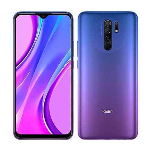 Redmi 9 Samartphone - 3GB 32GB AI QUAD KAMERA 6.53' Full HD + display 5020mAh (typ) Violett [Globale Version]