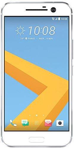 HTC 10 Smartphone (13,2 cm (5,2 Zoll) Super LCD 5 Display, 1440 x 2560 Pixel, 12 Ultrapixel, 32 GB, Android) glacier silber (Generalüberholt)