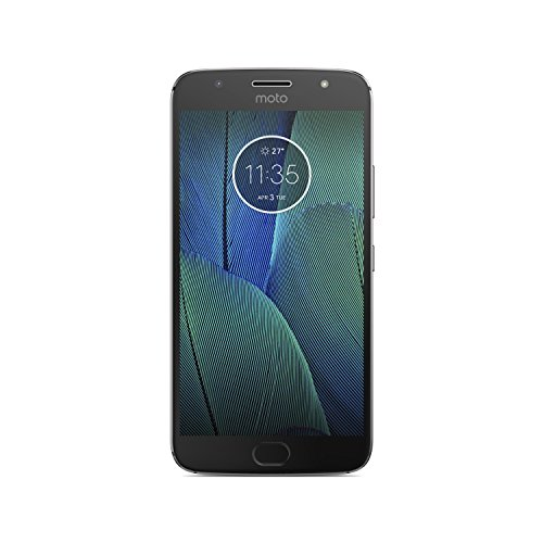 Lenovo Moto G5S Plus XT1805 Smartphone, Dual-SIM, 32 GB interner Speicher,Lunar Gray