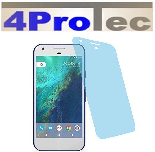 4ProTec I 2 Stück EXTREM Harte Displayschutzfolie CC EXTREM Harte für HTC Google Pixel Bildschirmschutzfolie Schutzhülle Displayschutz Displayfolie Folie