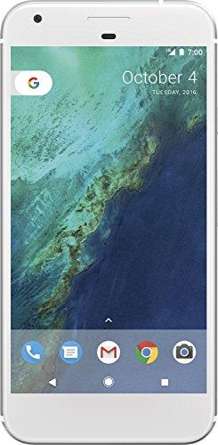 Google G-2PW2100-022-B Pixel XL 13,97 cm (5,5 Zoll) Smartphone (4G, 128GB Speicher, 4GB RAM, 8MP Kamera, Android) Silber