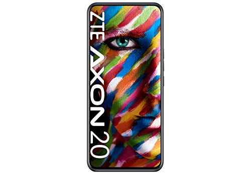 ZTE Smartphone Axon 20 (17.58 cm (6.92 Zoll) AMOLED Display, 128GB interner Speicher und 6GB RAM, 64MP Hauptkamera, 32MP Frontkamera, Dual-SIM, NFC, Android 10) Black