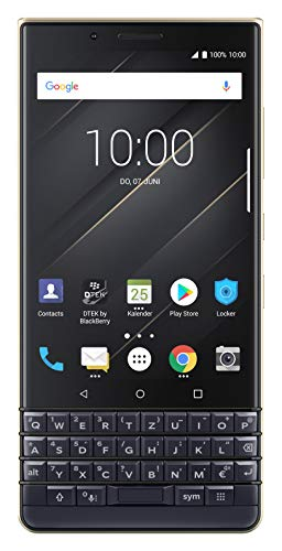 BlackBerry KEY2 LE Business Smartphone, 64 + 4 GB, Dual-SIM Champagne