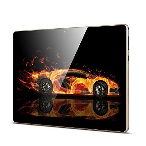 Tablet 10 Zoll, Android Tablet PC Qimaoo Android 8.1 mit 2 GB RAM 32 GB ROM Quad Core CPU, IPS HD (1280 x 800), Dual Kamera/ SIM 3G Tablets Unterstützung WiFi /GPS/Bluetooth