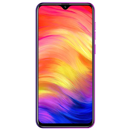 Ulefone Note 7 Smartphone (Android 9.0 Handy, 16GB interner Speicher, 15,49cm (6,1 Zoll) Display, 8MP+2MP+2MP Rückkamera, DuaL SIM, Face ID) - Twilight