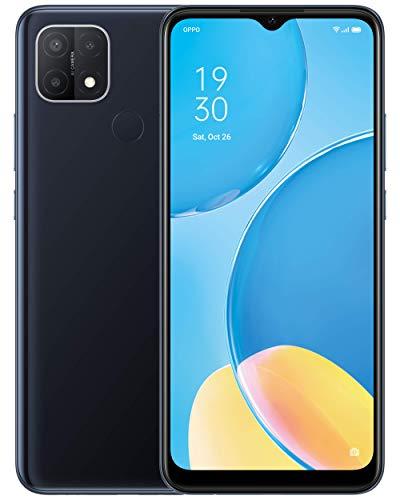 OPPO A15 – 6,5 Zoll, Dual SIM, 32 GB + Erweiterbar 256 GB, Triple AI Kamera, SIM-Free, Android 10 Smartphone, Schwarz