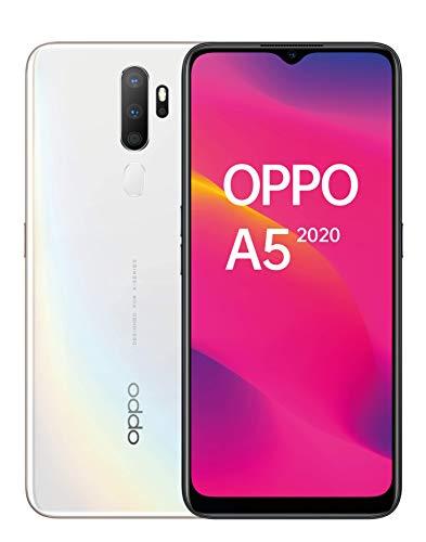 Oppo Digital A5 2020 64GB Handy, weiß, Dazzling White, Android 9.0 (Pie), Dual SIM 6944284651180