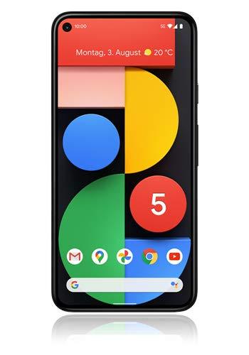 Google Pixel 5 Smartphone 128GB 6 Zoll (15.2 cm) Single-SIM Android 11 Schwarz