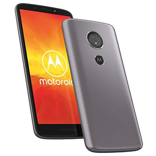 Motorola Moto e5 14,48 cm (5,7 Zoll) HD+ Smartphone (Quad-Core Prozessor, 13MP HDR Kamera, 4G LTE, 16GB Speicher, Dual-SIM, Android 8.0 Oreo) grau