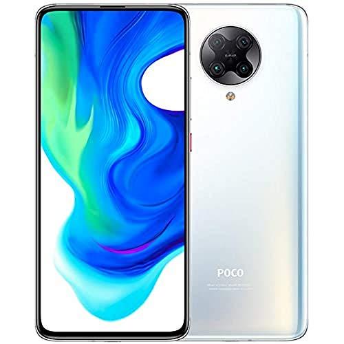 Xiaomi Poco F2 Pro 5G Smartphone 6GB RAM 128GB ROM Qualcomm® Snapdragon ™ 865 64MP Quad Rear Kamera AI 8K Video 6.67' AMOLED 4700 mAh(typ) Weiß