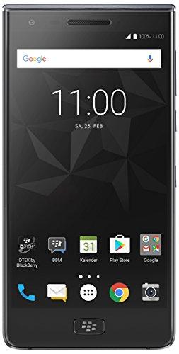 BlackBerry Motion Smartphone (5,5 Zoll), 12MP Kamera, 4.000 mAh Akku mit Schnellladefunktion, 32GB ROM / 4 GB RAM, Staub- und Spritzwassergeschützt (IP67), SINGLE SIM, schwarz