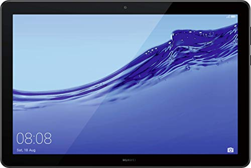 Huawei Mediapad T5 WiFi Tablet-PC (25,6 cm (10,1 Zoll) Full HD Display, 32 GB interner Speicher (erweiterbar), 3 GB RAM, 5100 mAh Akku) + 5EUR Gutschein, Schwarz