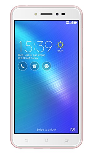 Asus ZenFone Live Dual-SIM Smartphone (12,7 cm (5,0 Zoll) HD Touch-Display, 16 GB Speicher, Android 6.0) pink