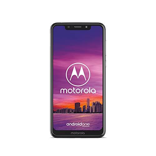 moto one Smartphone (14,98 cm (5,9 Zoll), 64 GB interner Speicher, 4 GB RAM, Android one ) Weiß, inkl. Schutzcover