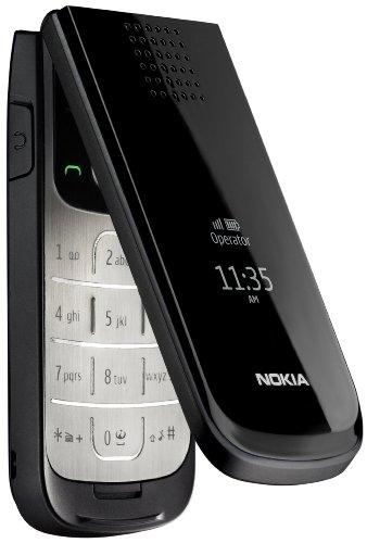 Nokia 2720 Fold Handy (4,6 cm (1,8 Zoll) Display, Bluetooth, 1,3 Megapixel Kamera) schwarz