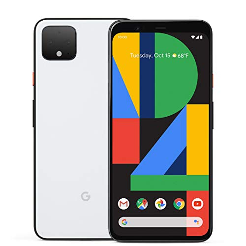 Google Pixel 4 64GB Handy, weiß, Clearly White, Android 10