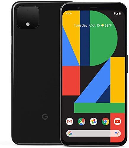 Google Pixel 4 XL 64GB Handy, schwarz, Just Black, Android 10