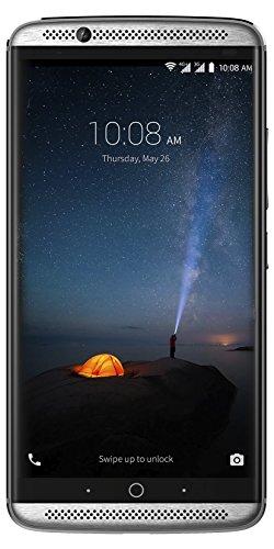 ZTE Axon 7 Smartphone (13,9 cm (5,5 Zoll) Display, 20 Megapixel Kamera, 64 GB Speicher) Grau