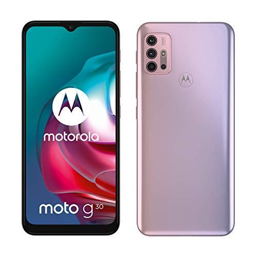 Motorola Moto G30 - Smartphone 128GB, 6GB RAM, Dual SIM, Pastel Sky