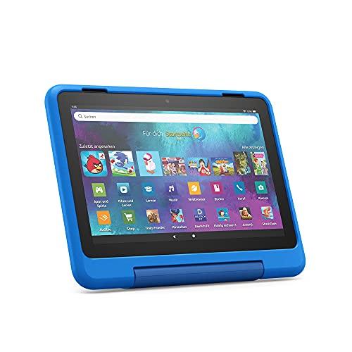 "Neu: das Fire HD 8 Kids Pro-Tablet | Ab dem Grundschulalter | 20,3 cm großer Bildschirm (8 Zoll), 32 GB, kindgerechte Hülle mit ""Raumschiffe""-Design"