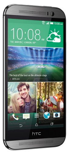HTC ONE M8 5' 16GB 4G LTE ANDROID 4.4 EUROPA GRAY