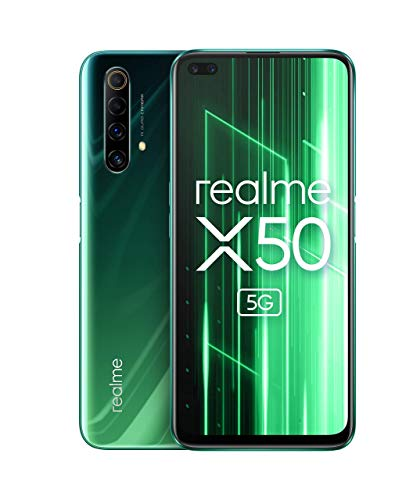Realme X50 5G - Smartphone 128GB, 6GB RAM, Dual SIM, Jungle Green