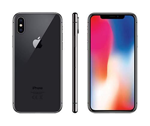Apple iPhone X 64GB - Space Grau (Generalüberholt)