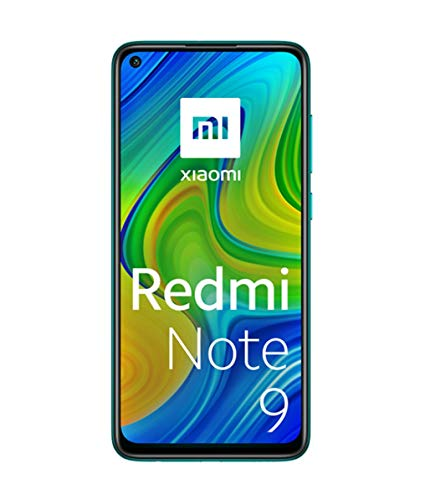 """Xiaomi Redmi Note 9 Smartphone 4GB 128GB 48MP Quad Kamera Hotshot 6.53""""FHD + DotDisplay 5020 mAh 3.5mm Headphone Jack NFC Forest Grün"""