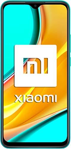 Redmi 9 Samartphone - 4GB 64GB AI QUAD KAMERA 6.53' Full HD + display 5020mAh (typ) Grün [Globale Version]