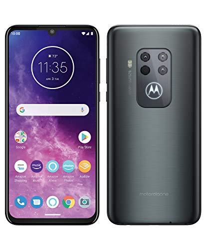 Motorola One Zoom - Smartphone 128GB, 4GB RAM, Dual SIM, Electric Gray