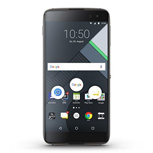 BlackBerry DTEK60 Smartphone (14 cm (5,5 Zoll) Display, 32 GB, Android) schwarz