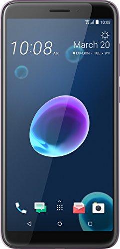HTC Desire 12 Smartphone (14 cm (5,5 Zoll) HD+ IPS-Display, 32GB interner Speicher und 3GB RAM, Dual-SIM, Android 7) Warm Silver